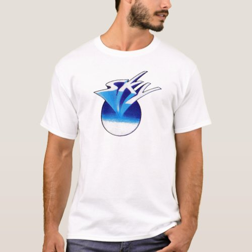 Sky White  Dark T_Shirt