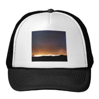 Sky White Night Trucker Hat
