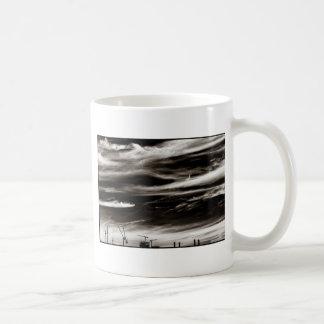 Sky Wisps over industrial London Coffee Mug