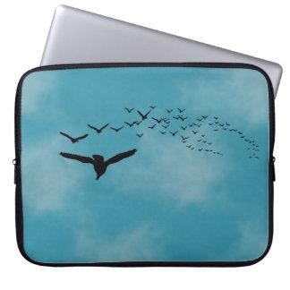 Sky with Birds Computer Sleeve