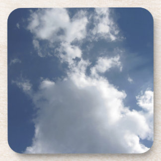 Sky with clouds coaster