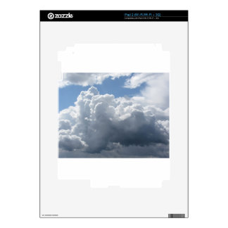 Sky with clouds iPad 2 decal