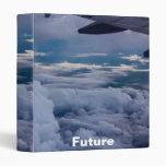 "Sky with future Cover Design 1"" Vinyl Binder"