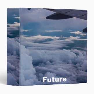 """Sky with future Cover Design 2""""2 3 Ring Binder"""