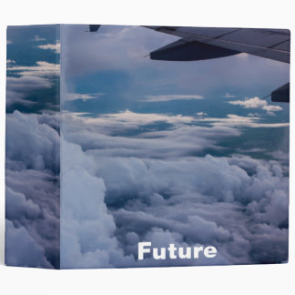 """Sky with future Cover Design 2""""8 Binder"""