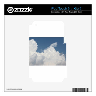 Sky with giants cumulonimbus clouds iPod touch 4G decal