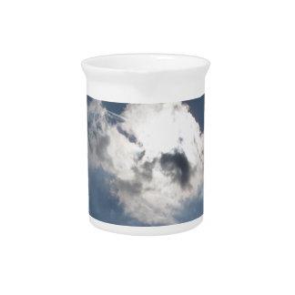 Sky with giants cumulonimbus clouds pitchers