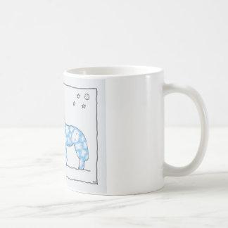 SKY WOLF TWO PAWS, by Ruth I. Rubin Coffee Mugs