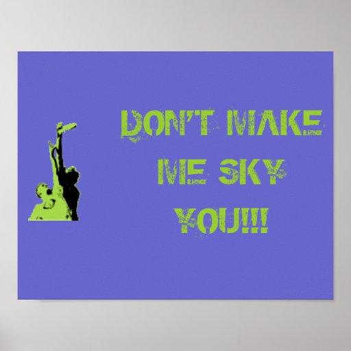 Sky You Poster