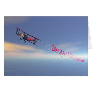 Skybanner valentine card