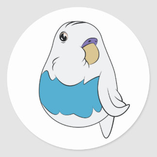 Skybelly Birble Classic Round Sticker