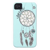 SkyBlue Dream-Catcher iPhone 4/4S Case Case-Mate iPhone 4 Cases