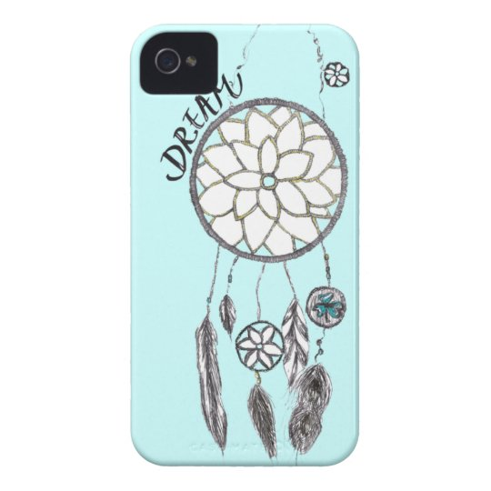 SkyBlue Dream-Catcher iPhone 4/4S Case