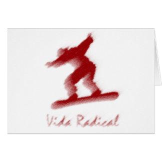 Skyboard radical LIfe Vida radical Card
