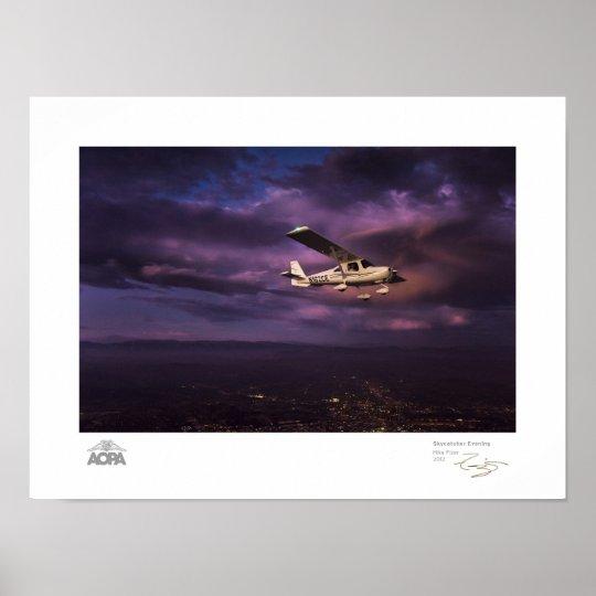Skycatcher Evening Gallery Poster