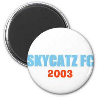 SKYCATZFC TEXT 2003 Magnet