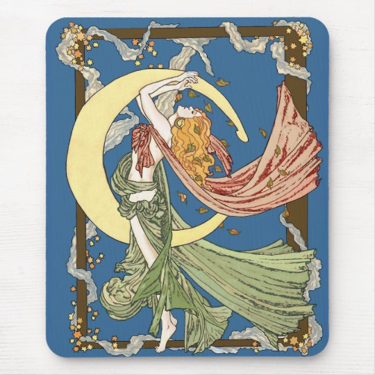 Skyclad October Night Mouse Pad
