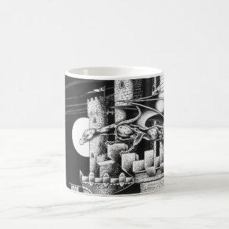 skyclaw's perch classic white coffee mug