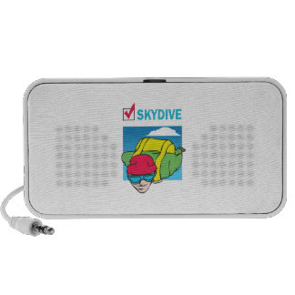 SKYDIVE DONE THAT PORTABLE SPEAKER