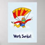 ¡Skydive - el trabajo chupa! Poster
