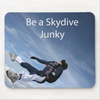 Skydive Junky Mousepad