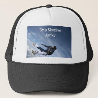Skydive junky trucker hat