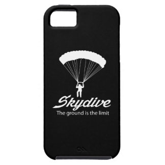 Skydive la tierra es el límite funda para iPhone 5 tough