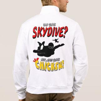 Skydive or Chicken? (blk) Jacket