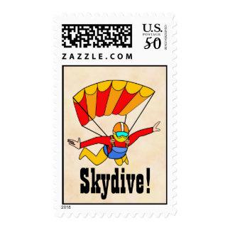 Skydive Postage