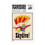 Skydive Postage Stamps
