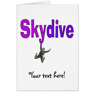 Skydive Purple Card