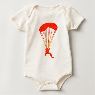 SKYDIVE RED DAWNS BABY BODYSUIT