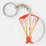 SKYDIVE RED DAWNS KEY CHAINS