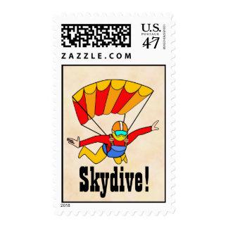 Skydive Sello Postal