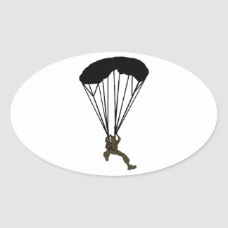 SKYDIVE THE CONSTANT OVAL STICKER