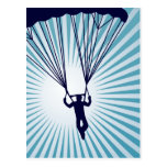 skydiver altísimo tarjetas postales