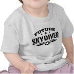 Skydiver futuro camiseta