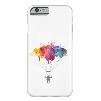 Skydiver, Parachute. Skydiving Sport. Parachuting Barely There iPhone 6 Case