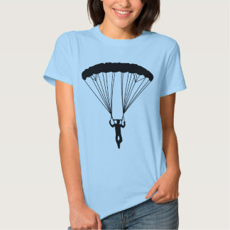 skydiver silhouette t-shirts
