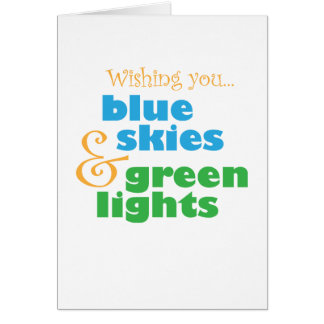 Skydivers Wish Card