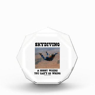 Skydiving A Hobby Where You Can't Go Wrong Award