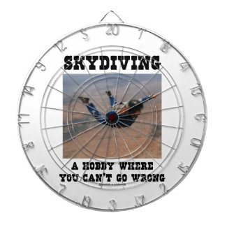 Skydiving A Hobby Where You Can't Go Wrong Dartboards