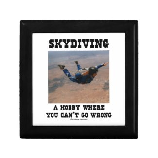 Skydiving A Hobby Where You Can't Go Wrong Gift Boxes
