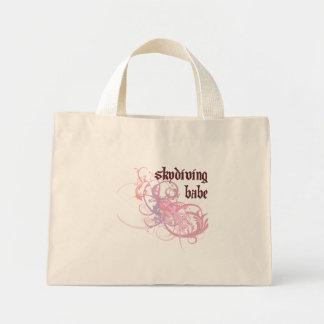 Skydiving Babe Mini Tote Bag