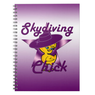 Skydiving Chick #9 Notebook