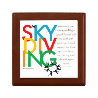 Skydiving Desire Jewelry Box