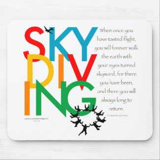 Skydiving Desire Mouse Pad