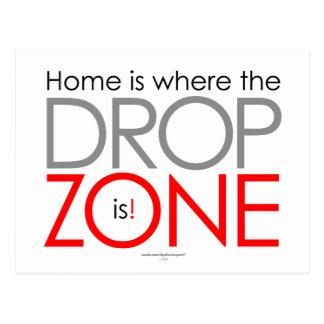 Skydiving Drop Zone Postcards