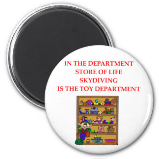 SKYDIVING gifts t-shirts 2 Inch Round Magnet