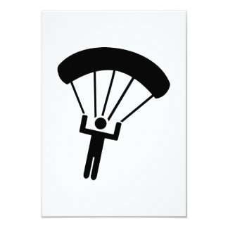 Skydiving icon card